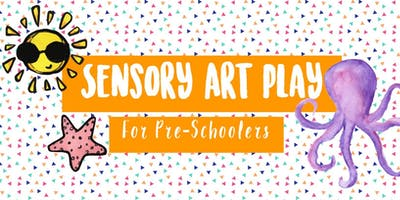 Sensory Art Play for Pre-Schoolers (Summer)