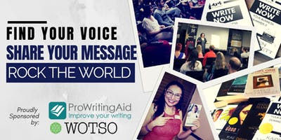 Find Your Voice, Share Your Message, Rock the World!
