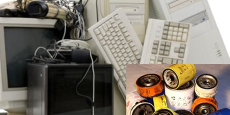 Recycle used oil & used oil filters and e-waste at Councilmember Blumenfield's District Office tickets
