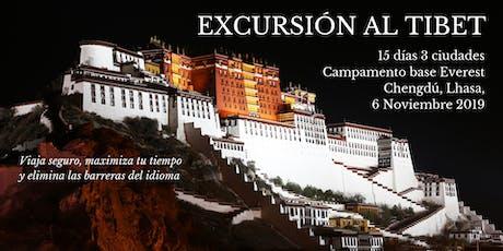 Excursión al Tibet entradas