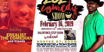 LOL Comedy Show with Erealist the Comedian