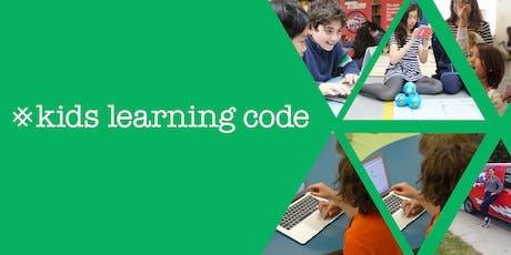 Kids Learning Code: Entrepreneurship Camp - Toronto tickets