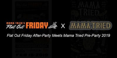 Flat Out Friday Official Afterparty