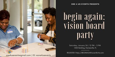 Begin Again: Vision Board Party