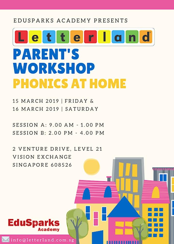 Letterland Parent's Workshop: Session A only image