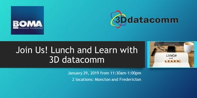 Lunch and Learn with 3D datacomm