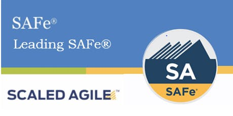 SAFe® 4.6 Leading SAFe with SAFe® 4 Agilist Certification-Old Bridge, NJ tickets