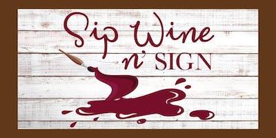 Sip Wine N' Sign At Pacific Islander Beer Company