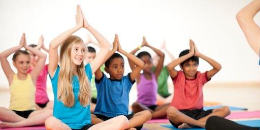 学龄(k -6年级)瑜伽