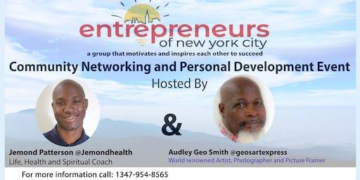 Entrepreneurs of N.Y.C - Community Networking & Personal Development Event (2019)