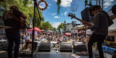 AUS Holiday Eve - The Midwayers // Bands By the Bay Festival