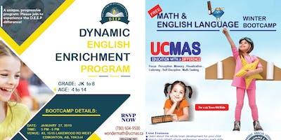 Math & English Language Winter Bootcamp