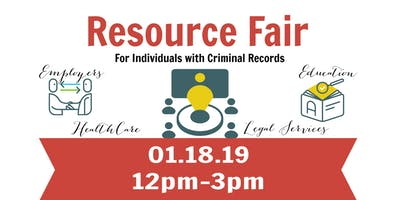Resource Fair for Individuals with Criminal Records