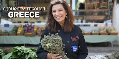 A Culinary Journey Through Greece: Wine Dinner with Celebrity Chef and Author, Diane Kochilas