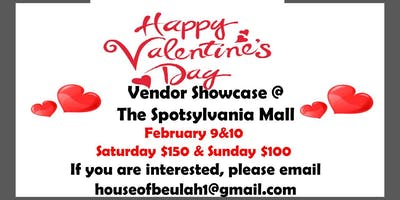 Valentine's Vendor Showcase @ The Spotsylvania Mall