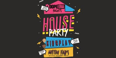 House Party: Pajama Jam with Kid N Play (Mistah Fab's Official Bday Party) @ Complex