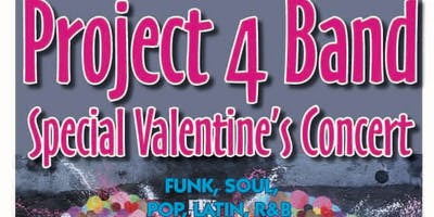 Project 4 Band - Valentine's Concert at Redwood Cafe