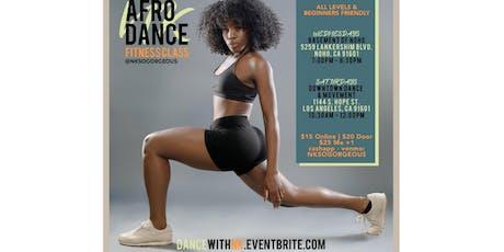 Afrobeats Wednesday Dance Class w/ Nk - LA tickets