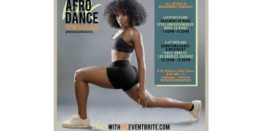 Afrobeats Wednesday Dance Class w/ Nk - LA