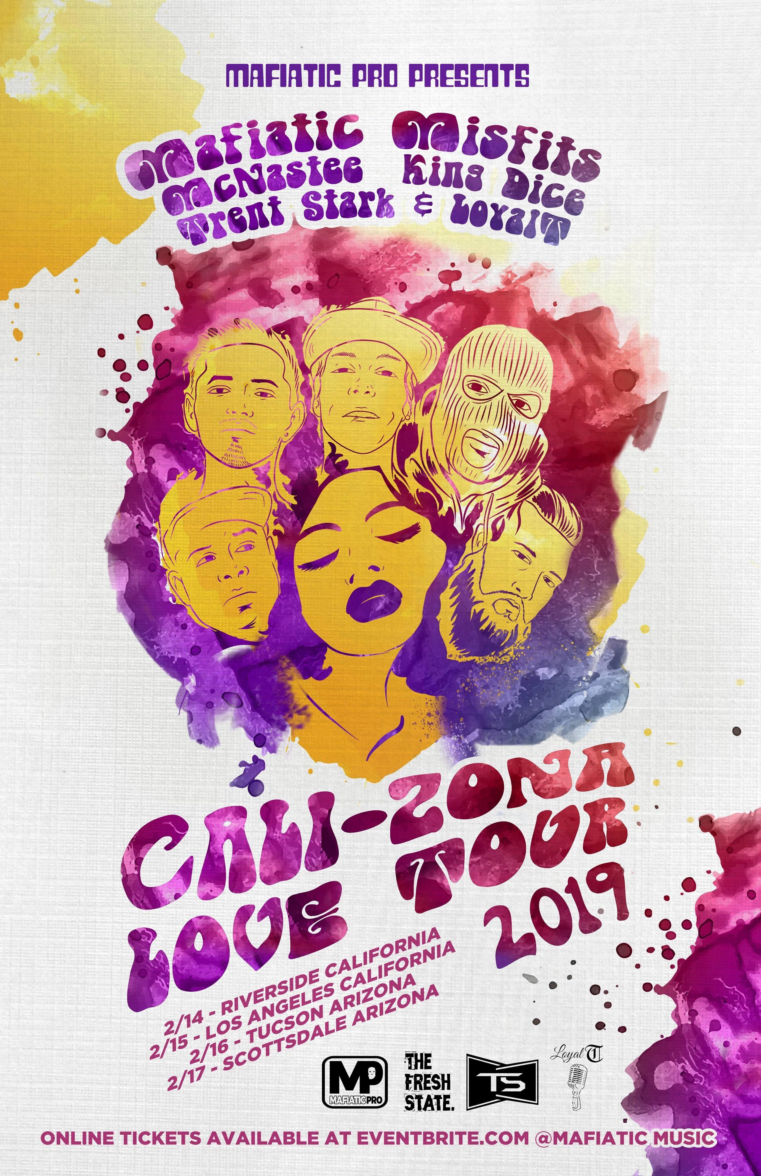 The Cali-Zona Love Tour 2019 (Tucson Az)