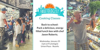Back to school cooking class: Packing a healthy lunchbox with chef Jason