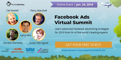 Facebook Ads Virtual Summit entradas