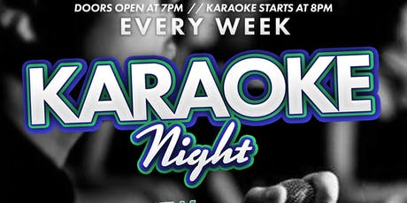 Karaoke Nights Every Sunday & Wednesdays  tickets