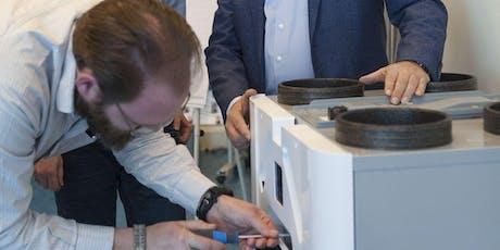Training Onderhoud en service ventilatiesystemen voor de woningbouw tickets