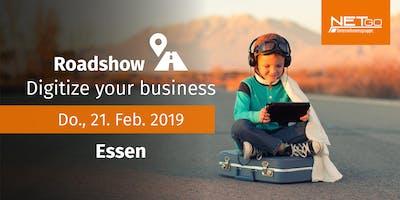 Roadshow: Digitize your business (Essen)
