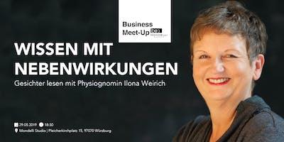 Wissen mit Nebenwirkungen: Gesichter lesen mit Physiognomin Ilona Weirich