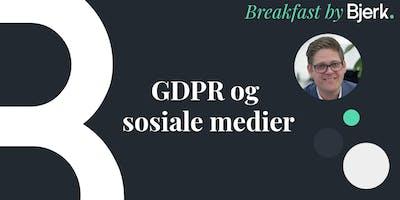 Gratis frokostmøte: GDPR og sosiale medier