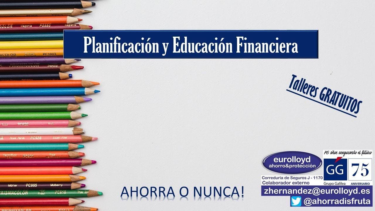Taller GRATUITO de Planificación y Educación