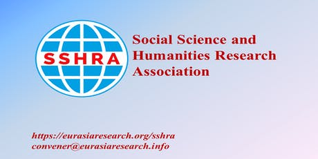 2nd Rome – International Conference on Social Science & Humanities (ICSSH), 28-29 August 2019 entradas