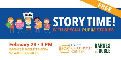 JCP Story Time at Barnes & Noble Tribeca