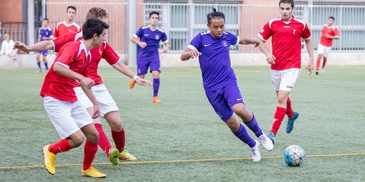 Boys Residential Soccer Camp in Barcelona
