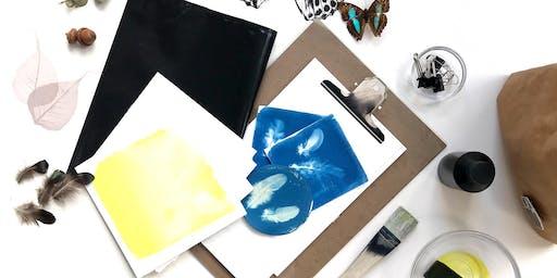 Cyanotype Workshop (including DIY art kit worth £40)