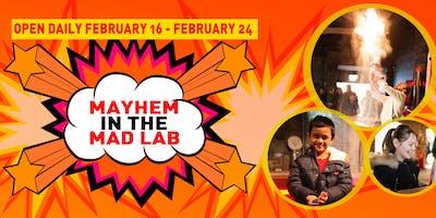Mayhem In The Mad Lab - Gift Aid Tickets