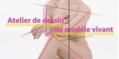 Atelier de dessin de modèle vivant