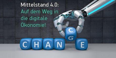 Mittelstand 4.0: Auf dem Weg in die digitale Ökonomie – Workshop #3: Agile Arbeitsmethoden Tickets