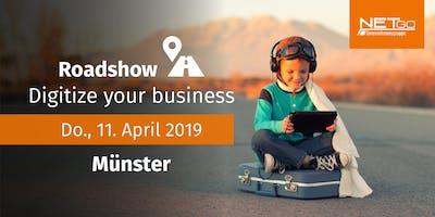 Roadshow: Digitize your business (Münster)