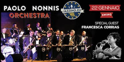 Paolo Nonnis Orchestra feat. Francesca Corrias - Live at Jazzino