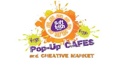 Pop-up Cafe + Creative Marketplace