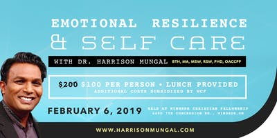 Emotional Resilience & Self Care with Dr. Harrison Mungal
