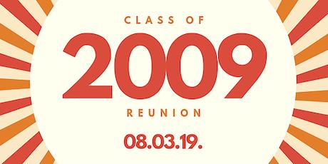GCS Class of 2009 Reunion tickets