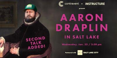 Aaron Draplin in Salt Lake - SECOND TALK ADDED!