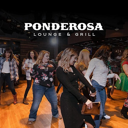 Ponderosa Lounge and Grill logo