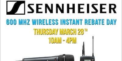 Sennheiser Instant Rebate Day