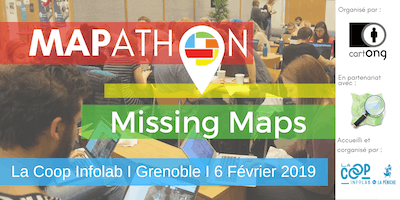 Mapathon Missing Maps à Grenoble @La Coop Infolab