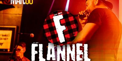 Retro Junkie presents FLANNEL (90's Alt Grunge Rock Covers)+ DJ Darker Daze