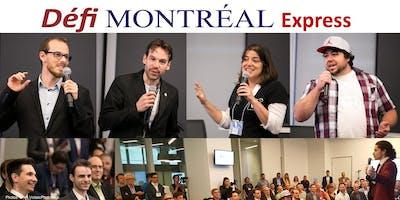 Défi Montréal EXPRESS - Le Succès sur les Réseaux Sociaux et Réussir vos pitchs